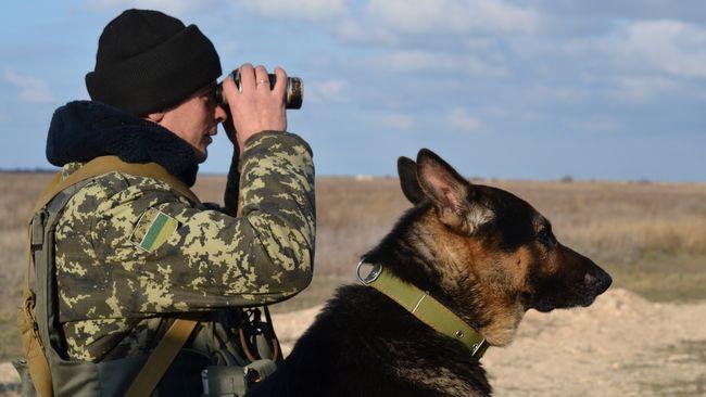 На Львівщині прикордонні собаки склали присягу на вірність Україні