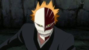 Ichigo on Hollow form from Bleach 247
