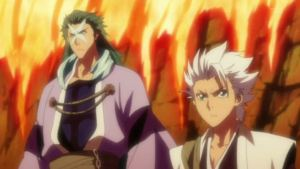 Hitsugaya and Hyorinmaru from Bleach 248