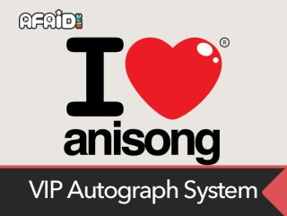 Autograph Processes For Anisong VIP ticket holders