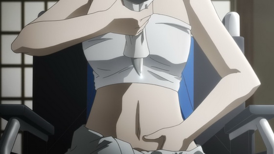 A firm unyielding spirit and well-toned abs.