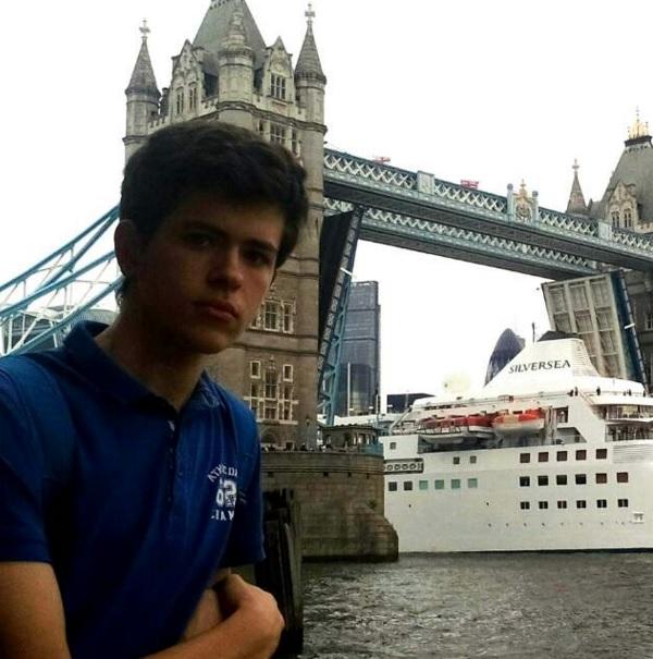 ¡Andrés en Londres!