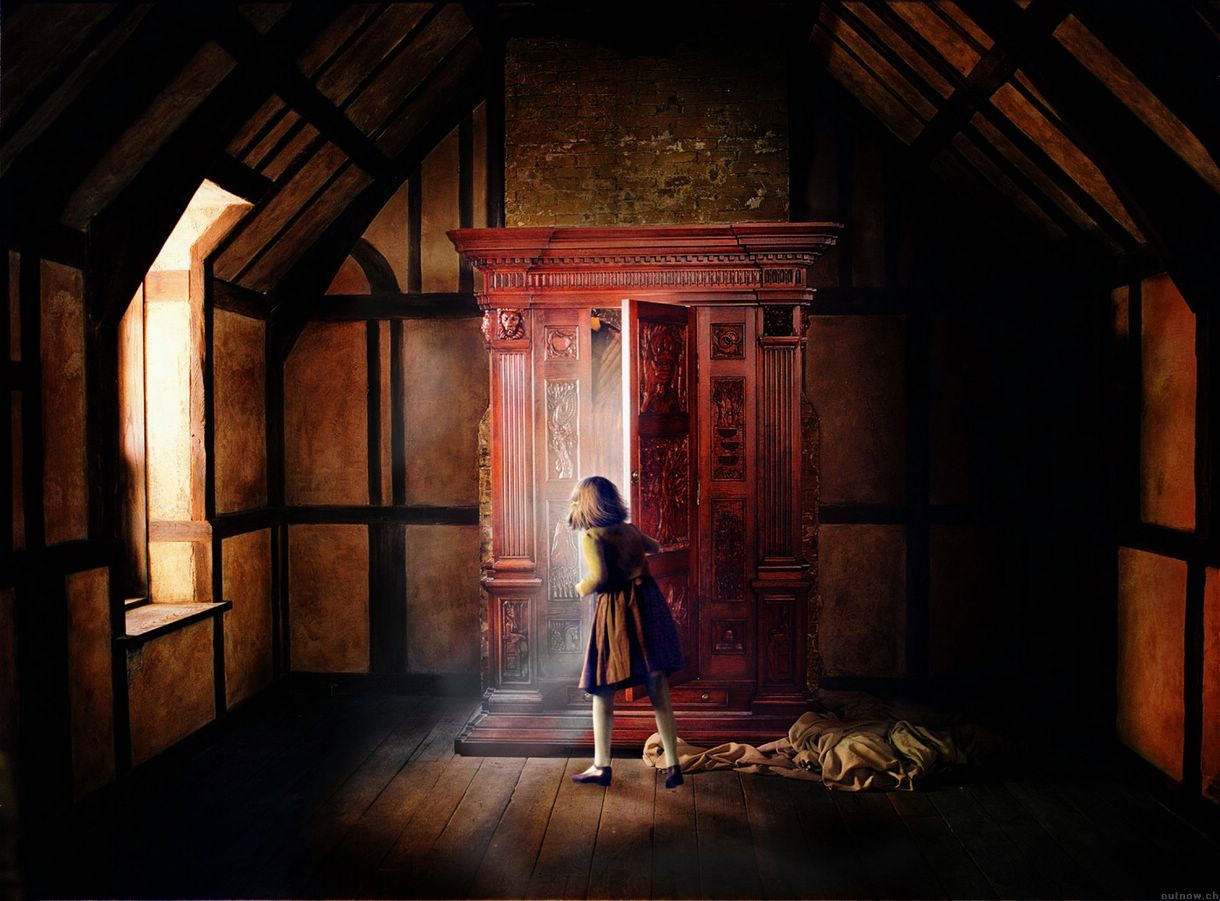 Entrando en el armario de Narnia