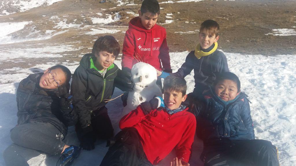 Fotos de la excursión a la nieve