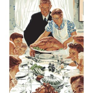 Freedom from Want - Norman Rockwell Thanksgiving
