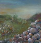 "<h5>Solitude</h5><p>Pastel  22.5""x21.5"" Framed</p>"