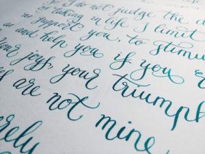 jorge luis borges poem calligraphy