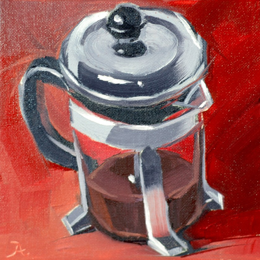 french-press-on-red