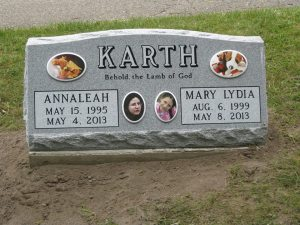 photo of headstone