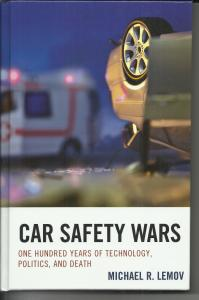 Car Safety Wars book cover