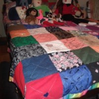 Remembering Mary & AnnaLeah in a Patchwork Quilt of Memories