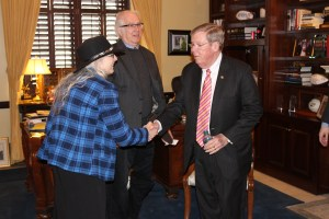 Meeting Senator Johnny Isakson