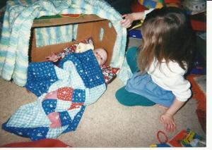 4 b baby Mary AL tucking in