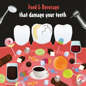 Dental health foods