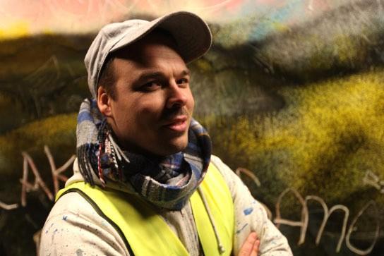 Jens Besser, Streetart-Künstler, Dresden