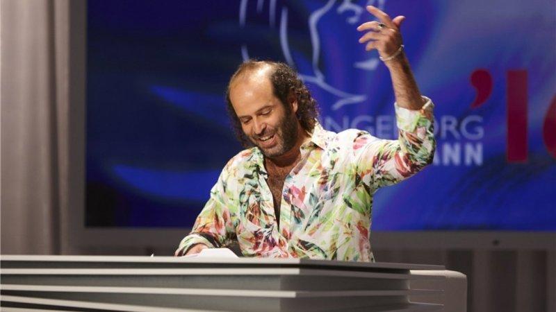Tomer Gardi beim Bachmannpreis 2016