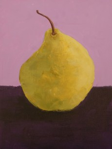 example of painting a pear for a class
