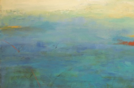 Ann Hart Marquis painting for artist critique group