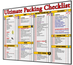 ultimate-packing-travel checklist