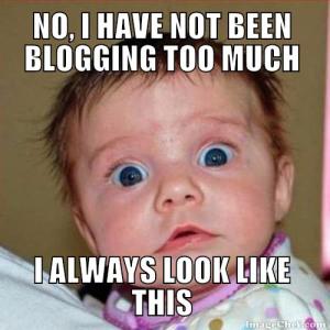 Image result for blogging meme