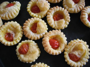 tartelettes tomate moutarde