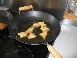 Raviolis frits