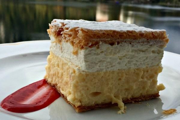 Slovénie : Bled Cream cake ou kremšnita