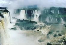 Les fabuleuses chutes d'Iguaçu.