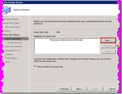 tools sccm console configmgr sccm  SCCM Recovery Restore Site Repair Wizard Step by Step Guide
