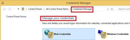 Credential Manager