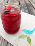 Foodie Friday: Watermelon Blackberry Mojito Smoothie