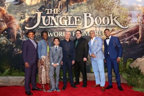 jungle book red carpet cast
