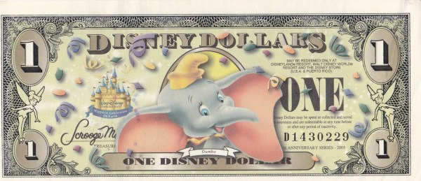disney money