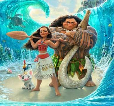 "#Moana Clips and Soundtrack ~ Who Knew ""The Rock"" Could Sing!!"