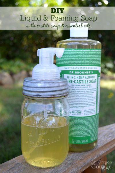 DIY Liquid Foaming Soap