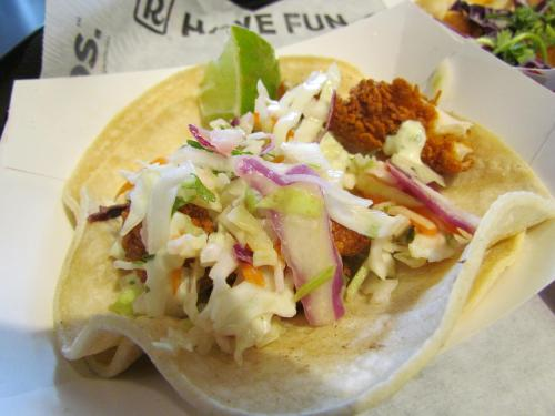 Medium Of Fried Chicken Taco