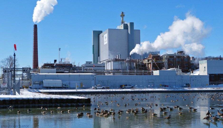 Cameco uranium processing plant in Port Hope, Ontario