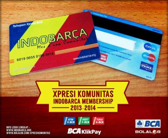 Our new Member Card Design with Xpresi BCA