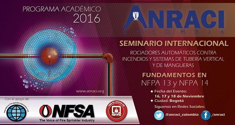 Seminario Internacional fundamentado en NFPA 13 y NFPA 14