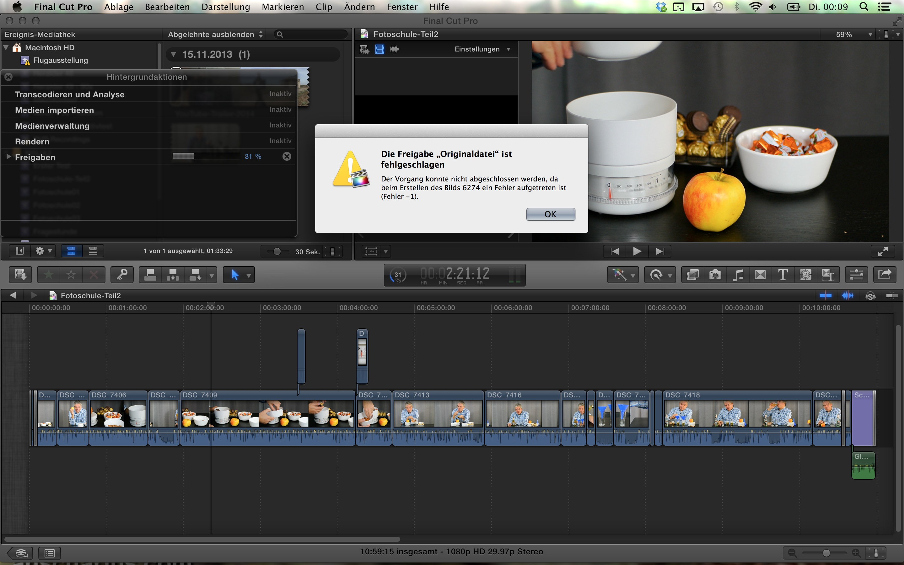 how to render in final cut pro