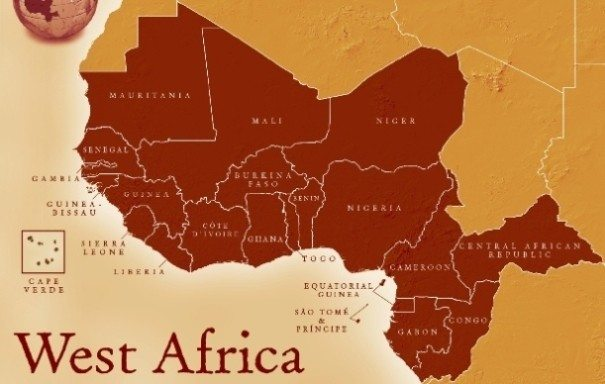 West African Countries  List of Countries in West Africa Map of West Africa
