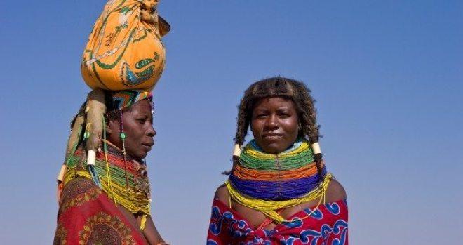 Muhuila women Angola