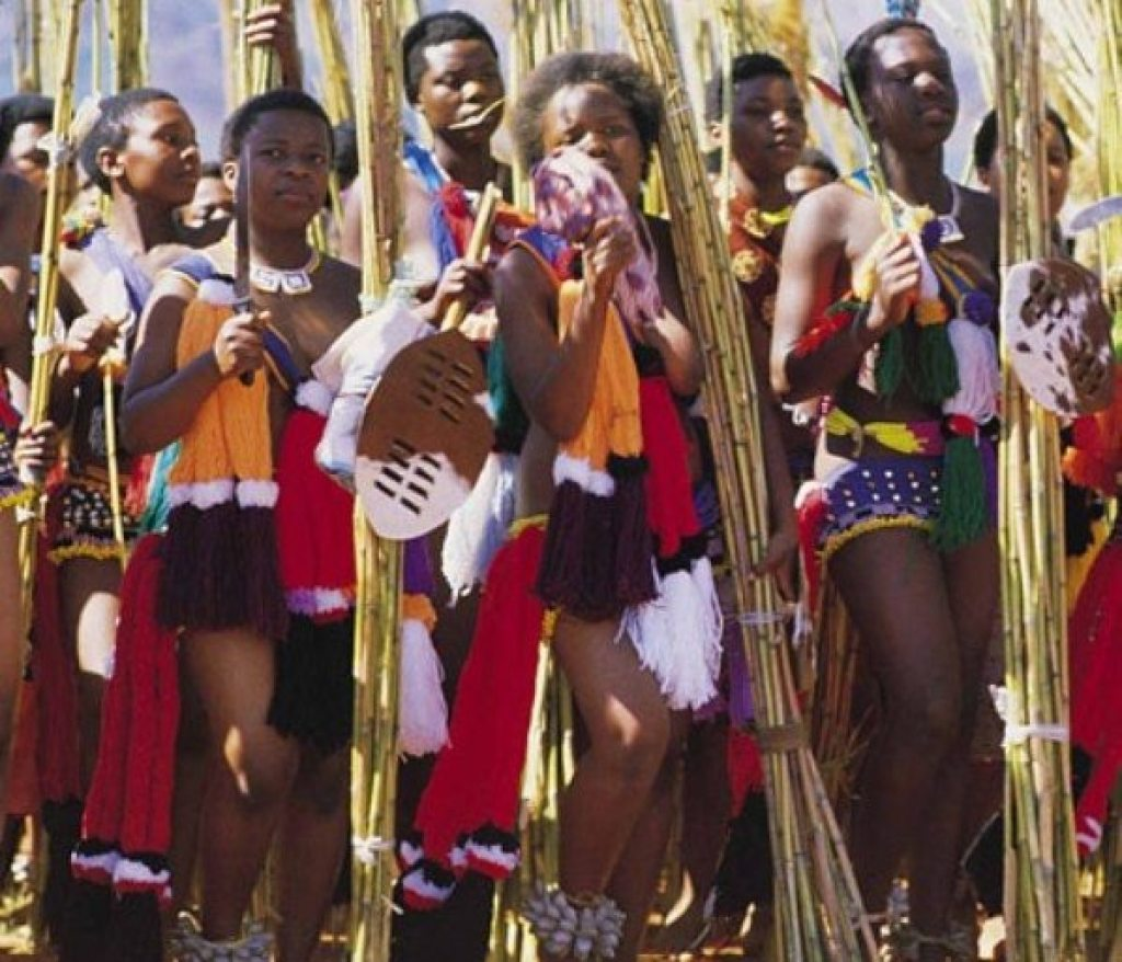 Swazi Women at a Reed Dance