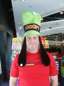 I know some people think I'm goofy