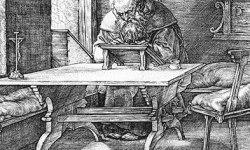 Duerer-Hieronymus-im-Gehaeus-1514-th