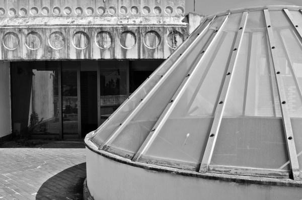 eAbandoned hotel, KRALJICINA, roof, skylight, montenegro
