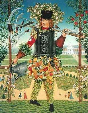 Chelsea Gardener painting
