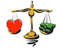Επιλέγοντας ανάμεσα στα χρήματα και σ' αυτό που αγαπάς