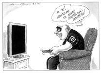 Ανασκόπηση Ιουνίου 2013 μέσω γελοιογραφιών