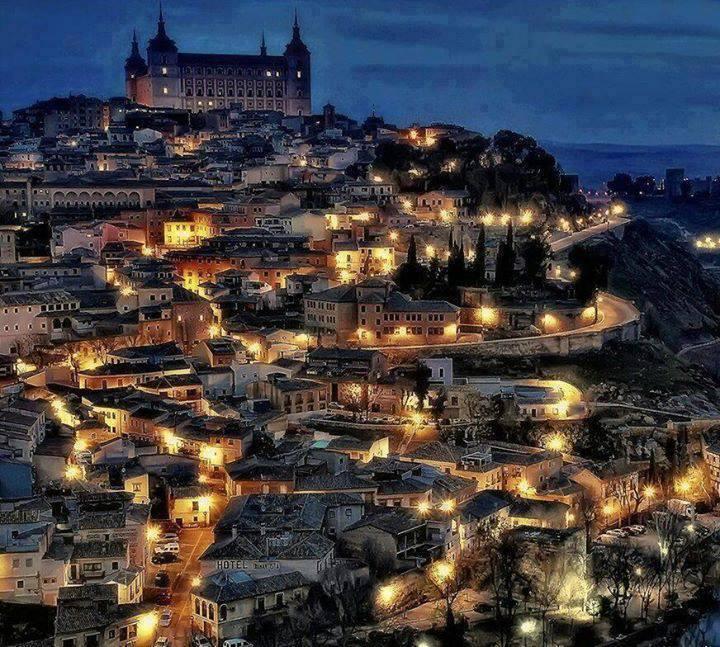 Φωτογραφία από τη μεσαιωνική πόλη του Τολέδο (Ισπανία).